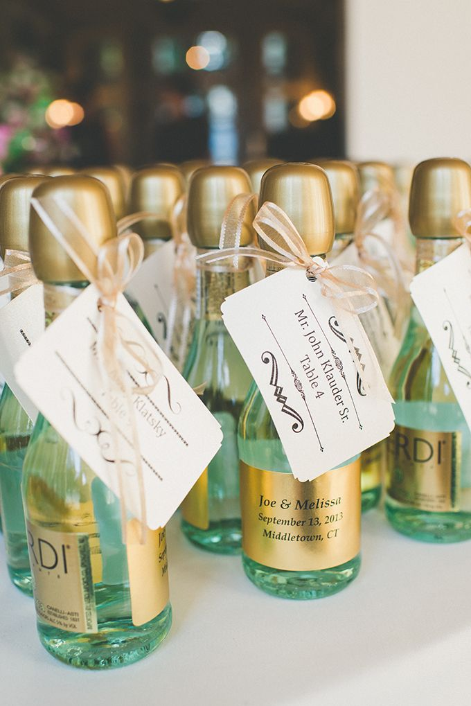 Wedding Favors & Party Favors Ideas – Mini Champagne Bottles ...