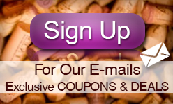 E-mail Sign Up for Wine Deals