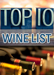 Top 10 Wine List