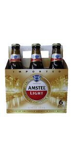 Amstel Light 6 Pack Bottles 12oz