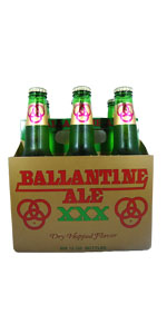 Ballantine Ale 6 Pack Bottles
