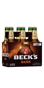 Becks Dark 6 Pack Bottles