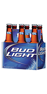 Bud Light 6 Pack Bottles 12oz