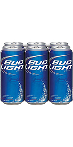 Bud Light 6 Pack Cans 12oz