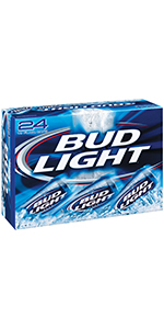 Bud Light 24 Cans 2/12 Packs