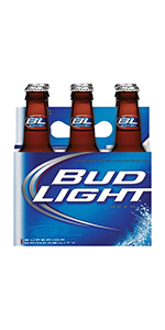 Bud Light 7oz 6 Pack Bottles