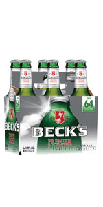 Becks Light 6 Pack Bottles