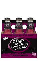 Mike's Hard Black Cherry Lemonade 6 Pack Bottles