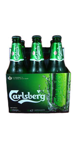 Carlsberg 6 Pack Bottles