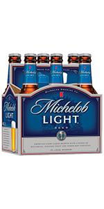 Michelob Light 6 Pack Bottles