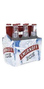 Smirnoff Ice 6 Pack Bottles