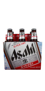 Asahi Super Dry 6 Pack Bottles