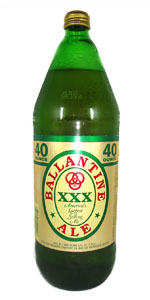 Ballantine Ale 40oz Bottle