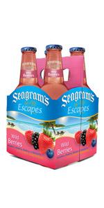 Seagrams 4 Pack Wild Berries