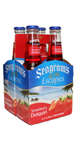 Seagrams 4 Pack Strawberry Daiquri