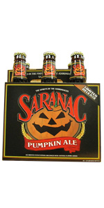 Saranac Pumpkin Ale 6 Pack Bottles