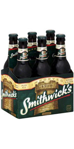 Smithwicks Irish Ale 6 Pack 12oz Bottles