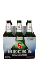 Becks Non Alcoholic 6 Pack Bottles