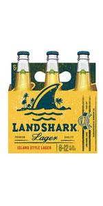 Landshark 6 Pack Bottles