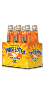 Twisted Tea Peach 6 Pack Bottles
