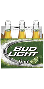 Bud Light Lime 6 Pack Bottles 12oz