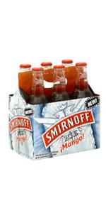 Smirnoff Ice Mango 6 Pack Bottles