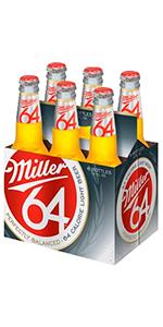 Miller 64 6 Pack Bottles