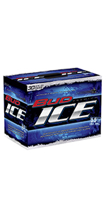 Bud Ice 30 Pack Cans