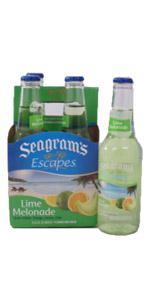 Seagrams Lime Melonade 4 Pack Bottles