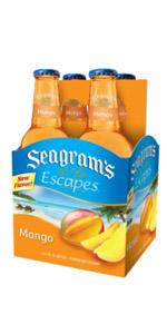Seagrams 4 Pack Mango