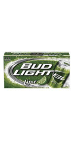 Bud Light Lime 18 Pack Cans