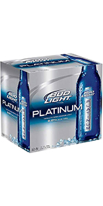 Bud Light Platinum 24 Pack Bottles
