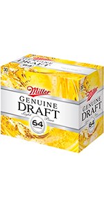 Miller 64 30 Pack Cans