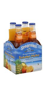 Seagrams 4 Pack Bahama Orange Pineapple
