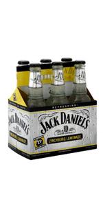 Jack Daniels Lemonade 6 Pack Bottles