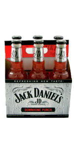 Jack Daniels Punch 6 Pack Bottles