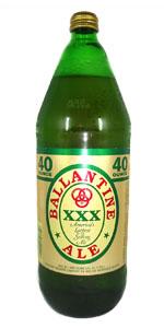 Ballantine Ale 40oz Bottle