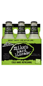 Mikes Hard Limeade 6 Pack Bottles