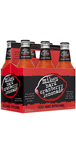 Mikes Hard Cranberry Lemonade 6 Pack Bottles