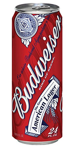 Budweiser 24oz Can Missouri Domestic Beer Shoprite