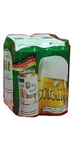 Bitburger 16oz Cans 4 Pack Germany Imported Beer