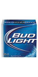 Bud Light 8oz Cans 24 Pack