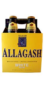 Allagash White 4 Pack Bottles