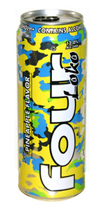 Four Loko Pineapple 23.5oz Can