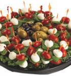 Mozzarella & Tomato Shooters Platter (Serves 10-15)