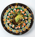 Kyoto Sushi Platter 59 Pieces (Serves 10-12)