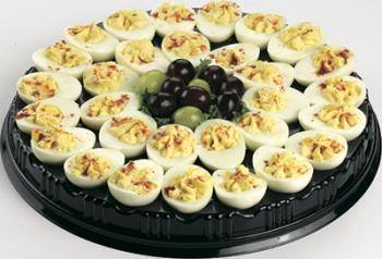 deviled eggs platter serves 15 20 local delivery food platters