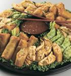Asian Dumpling & Spring Rolls Platter (Serves 10-15)