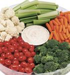 Garden Medley Vegetable Platter (Serves 20-25)