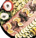 Poached Salmon Platter (Serves 8-10)